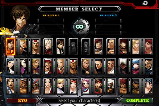 "Игра ""King of Fighters"" для планшетов на Android"