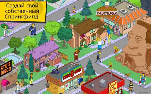 "Игра ""The Simpsons™: Tapped Out"" на Андроид"
