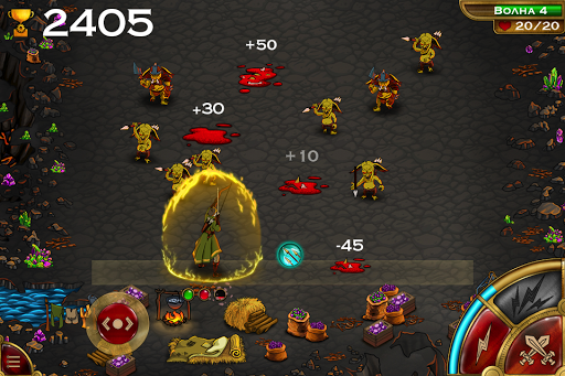 Goblins Raid скачать на планшет Андроид