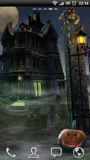 "Живые обои ""Haunted House HD"" для планшетов на Android"