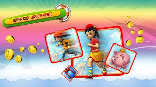 Игра БЕГИ БЕГИ 3D для планшетов на Android