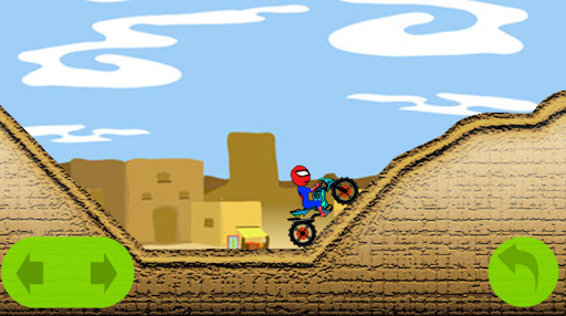 Spider man Motorbiker Game скачать на планшет Андроид