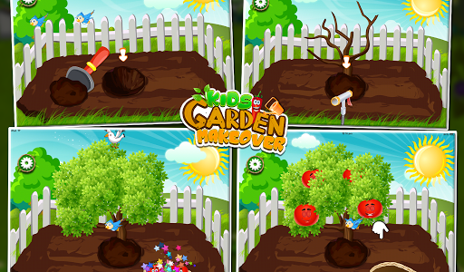 Kids Garden Makeover