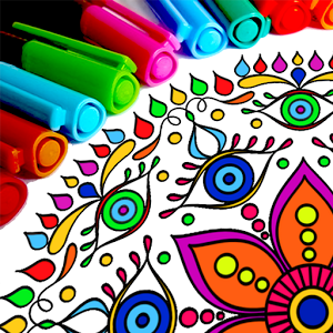 Раскраски: Мандала