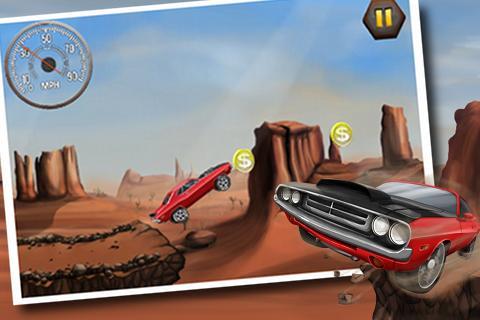 "Игра ""Stunt Car Challenge"" для планшетов на Android"
