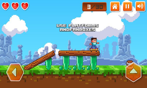 "Игра ""Extreme Skater"" для планшетов на Android"