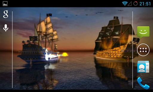 Pirates Live Wallpaper скачать на планшет Андроид