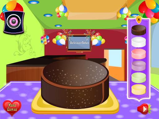 Игра Украшение торта на Андроид