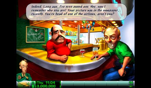 Игра Airline Tycoon Deluxe на Андроид