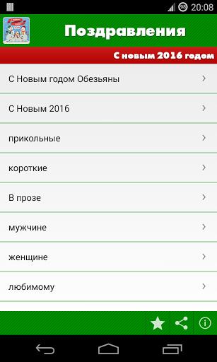 Поздравления: Год обезьяны - 2016 скачать на Андроид