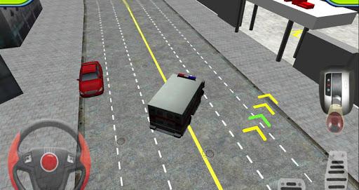Игра Ambulance Parking 3D Extended на Андроид