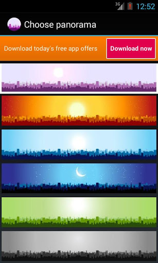 Panorama City Free LWP скачать на Андроид