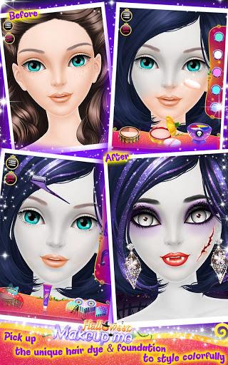 Halloween Makeup Me для планшетов на Android