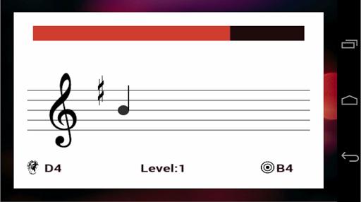 Приложение Sheet Music Trainer на Андроид