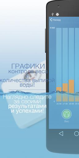 AquaLife - Лучший трекер воды скачать на планшет Андроид