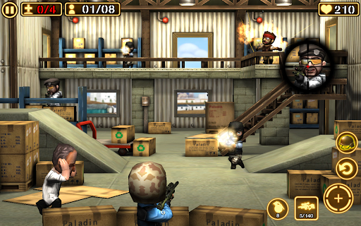 Игра Gun Strike 2 на Андроид