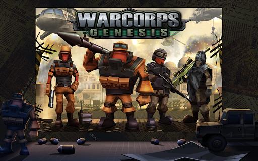 Игра WarCom: Genesis для планшетов на Android