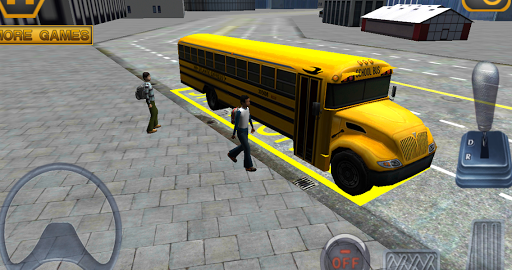 Игра Schoolbus 3D на Андроид
