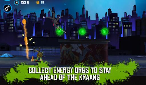 Игра TMNT: ROOFTOP RUN для планшетов на Android