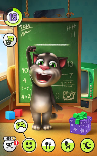"Игра ""Talking Tom Cat"" на Андроид"