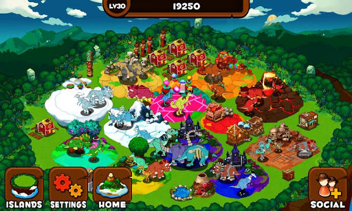 Dino Island для планшетов на Android