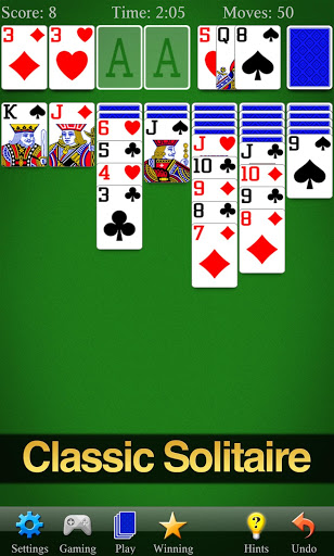 Solitaire для планшетов на Android