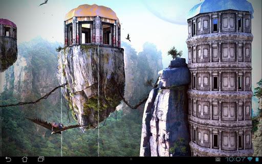 Fantasy World 3D LWP на Андроид
