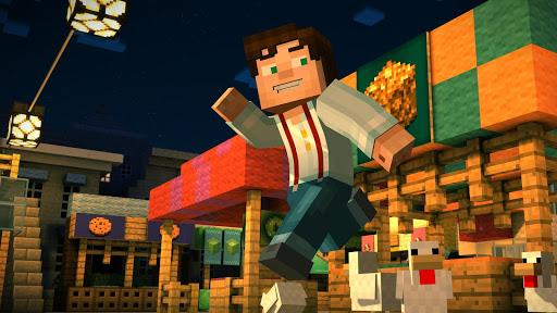 Minecraft: Story Mode скачать на планшет Андроид