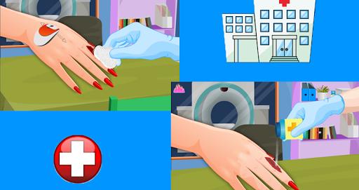Игра Маникюр после травмы для планшетов на Android
