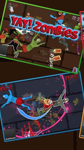 Игра Yay! Zombies для планшетов на Android