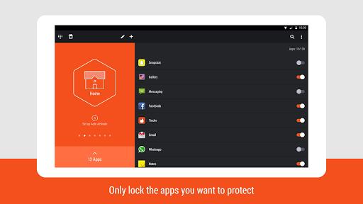 Hexlock - App Lock Security скачать на Андроид