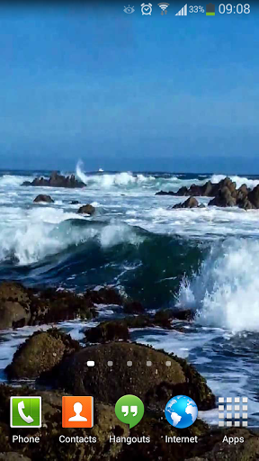 Ocean Waves - Live Wallpaper скачать на Андроид