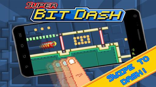"""Игра """"Super Bit Dash"""" на Андроид"""