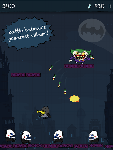 Doodle Jump DC Super Heroes скачать на Андроид