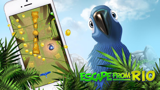 Игра Escape From Rio - Blue Birds на Андроид