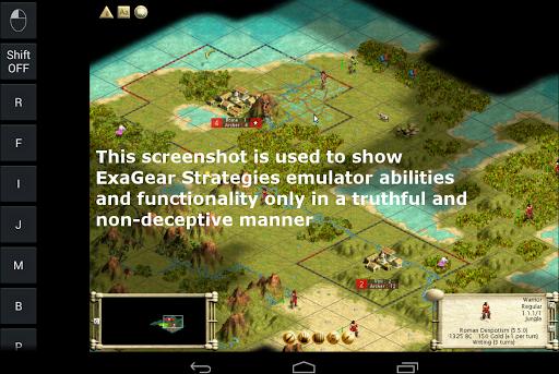 Эмулятор ExaGear Strategies на Андроид