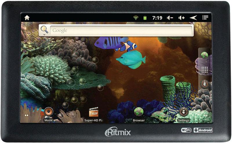 Обзор + видео обзор планшета Ritmix RMD-720