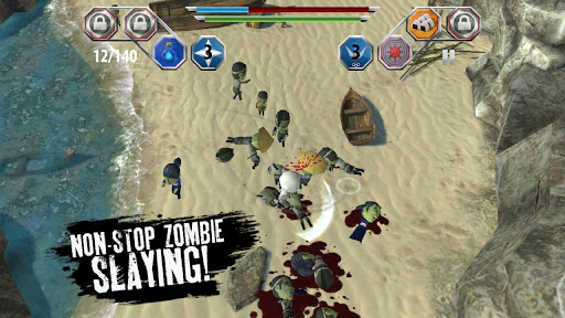 "Игра ""Finger Ninjas: Zombie Strike-Force"" на Андроид"