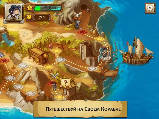 Braveland Pirate скачать на планшет Андроид