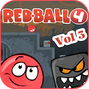 Red Ball Hero 4 — Rolling Ball Volume 3