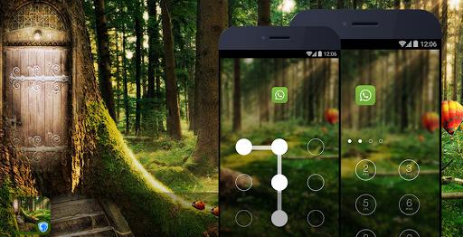 AppLock Theme - Deep Forest скачать на Андроид
