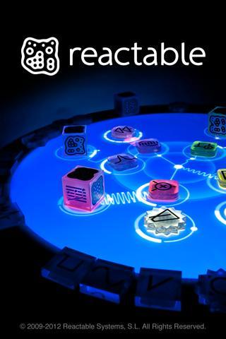 Приложение Reactable mobile для планшетов на Android