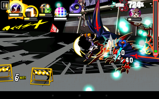Игра The World Ends With You для планшетов на Android