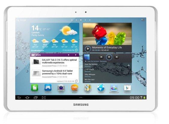 Видео и текстовый обзоры планшета Samsung Galaxy Tab 10.1 на Android  3.1