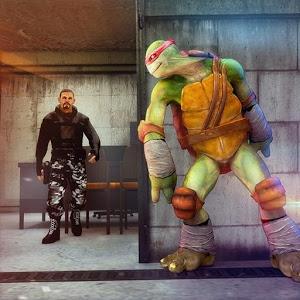 Turtle Ninja: Critical Escape — City Prison
