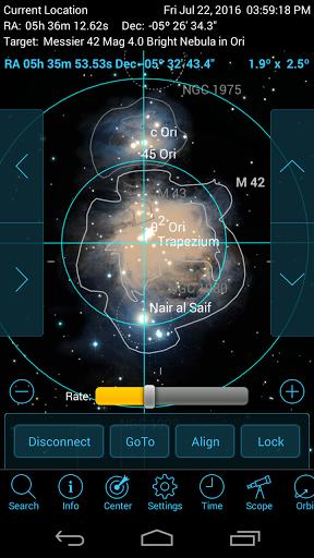 SkySafari 5 Pro скачать на планшет Андроид