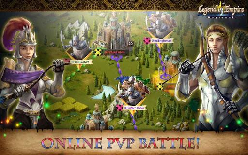 Игра Legend of Empire - Daybreak для планшетов на Android