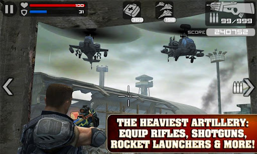 Frontline Commando скачать на планшет Андроид
