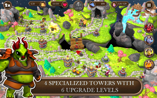 Игра Brave Guardians для планшетов на Android