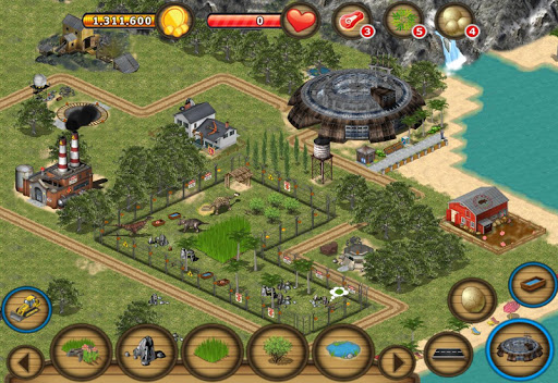 Jurassic Island: Dinosaur Zoo на Андроид
